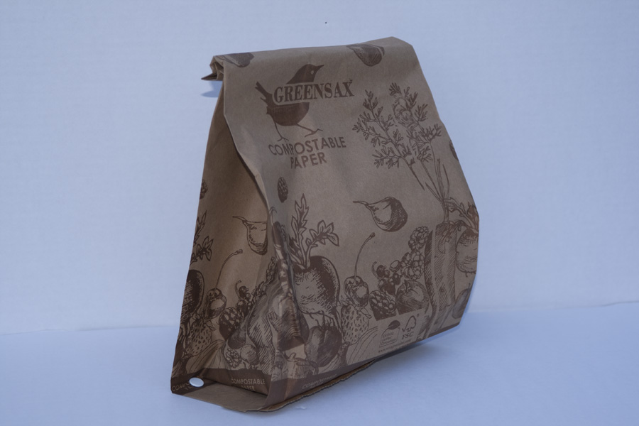 10 Litre Paper Kitchen Caddy Bags