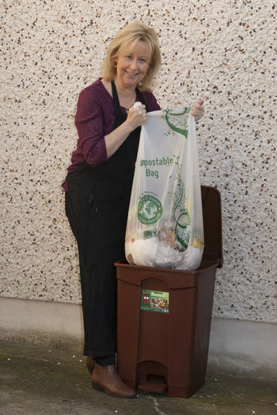 Commercial Compostable Kitchen Bin Bags